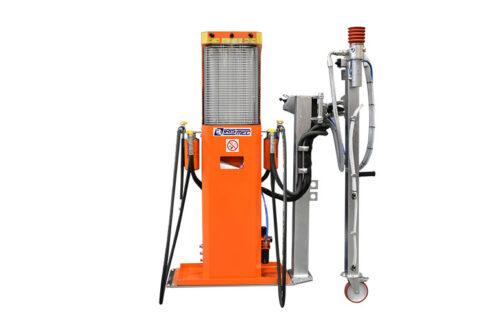 PFT-VS Perforateur réservoirs carburant avec commande à distance et emplacement pour l'inspection